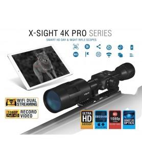 ATN MIRA DIGITAL DIA / NOITE X-Sight 4K PRO Ultra HD ( 3-14 / 5-20 )