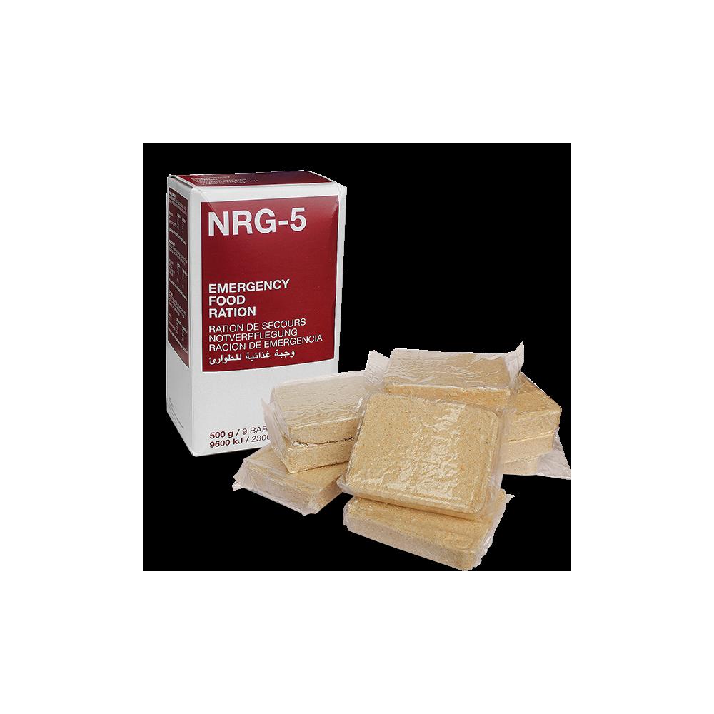 RAÇÕES DE EMERGÊNCIA NRG-5 (9 Barras)