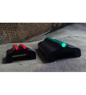 STAR DOT FIBER OPTIC SHOTGUN SIGHT RED/GREEN 7/8