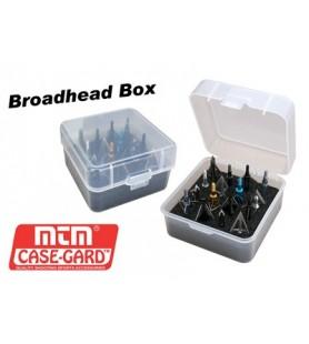 MTM CAIXA PONTA CAÇA 16 BROADHEAD BOX ( UN )