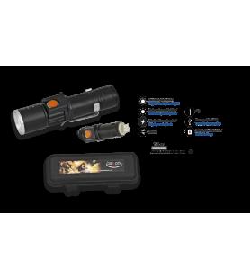 BARBARIC LANTERNA LED RECARREGÁVEL COM USB 12814