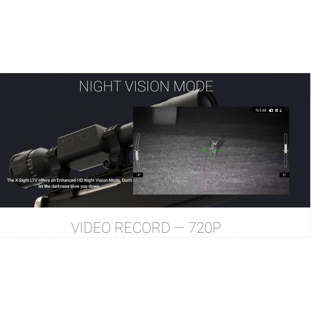 ATN MIRA DIGITAL DIA / NOITE X-SIGHT LTV 4K 5-15x