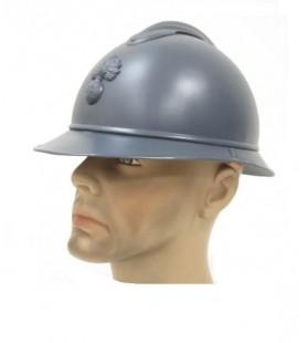 ARMY CAPACETE MILITAR FRANCÊS ADRIEN WW1 / WW2 (RÉPLICA)