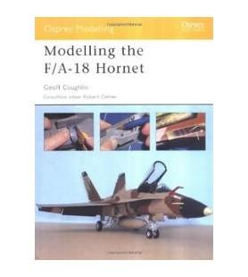 "LIVRO OSPREY ""MODELLING THE F/A-18 HORNET"" MOD 016"