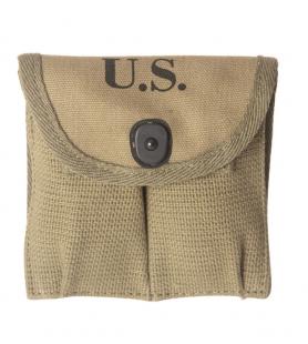 US WWII BOLSA PARA CARREGADORES CARABINA 30M1 (PAR)